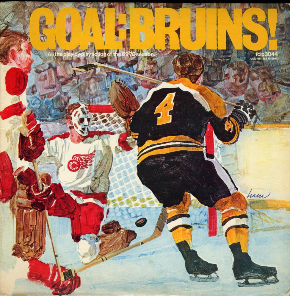 Goal: Bruins! 1969-70 Boston Bruins Season LP FCLP3044 Bobby Orr