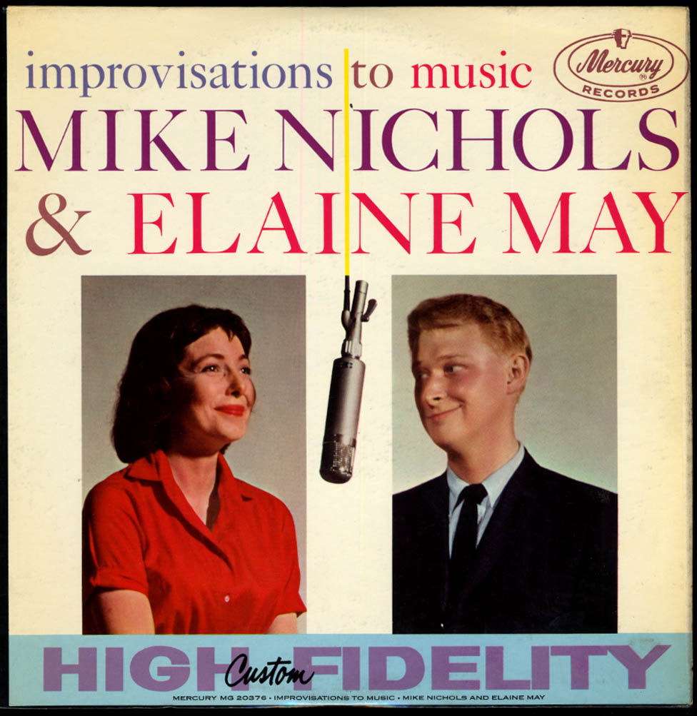 Image for Mike Nichols & Elaine May Improvisations to Music Mercury LP MG 20376 1958
