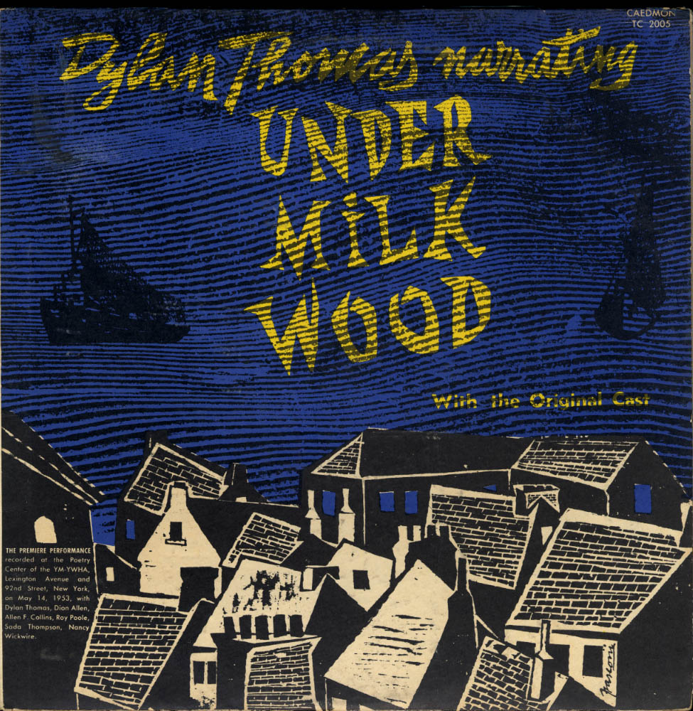Image for Dylan Thomas narrates Under Milk Wood original cast LP TC 2005 1956