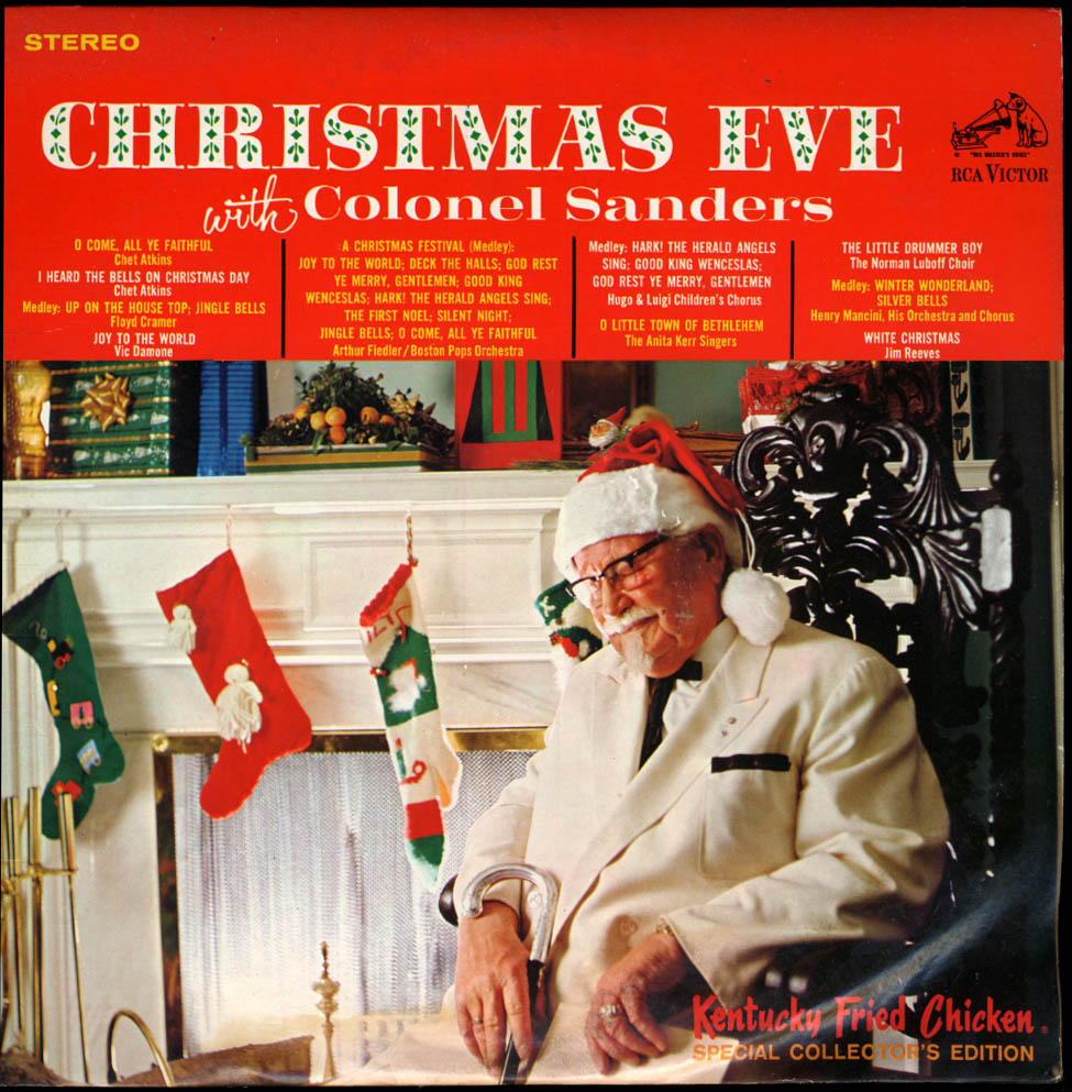 Christmas Eve with Colonel Sanders Kentucky Fried Chicken LP 1967