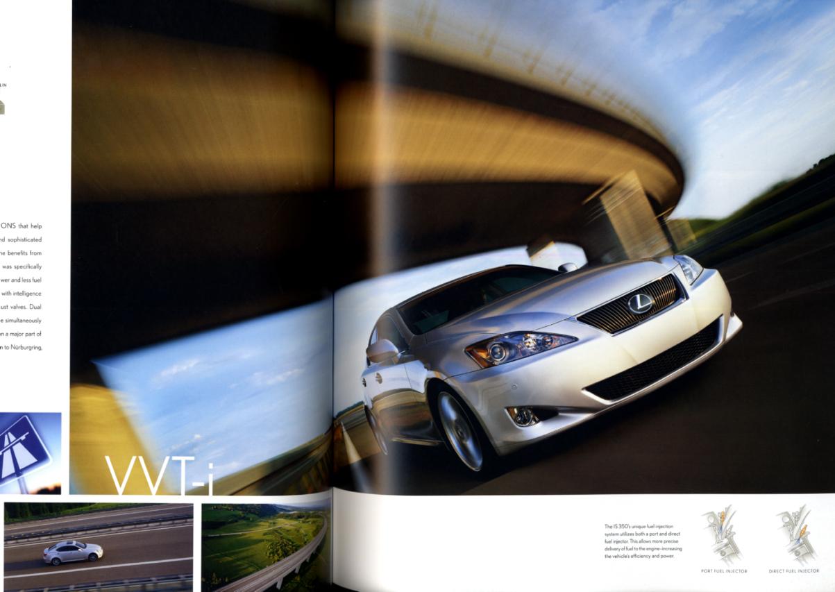 Image for 2006 Lexus IS 250 IS 350 sedan sales brochure