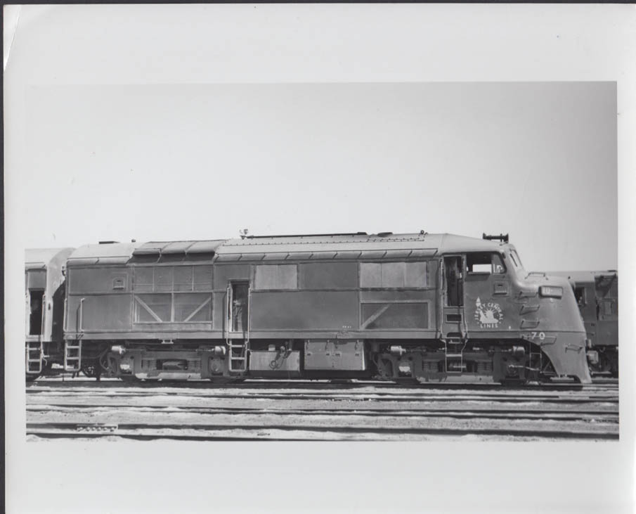 Image for Jersey Central RR EMD F3A diesel-electric locomotive #70 photo