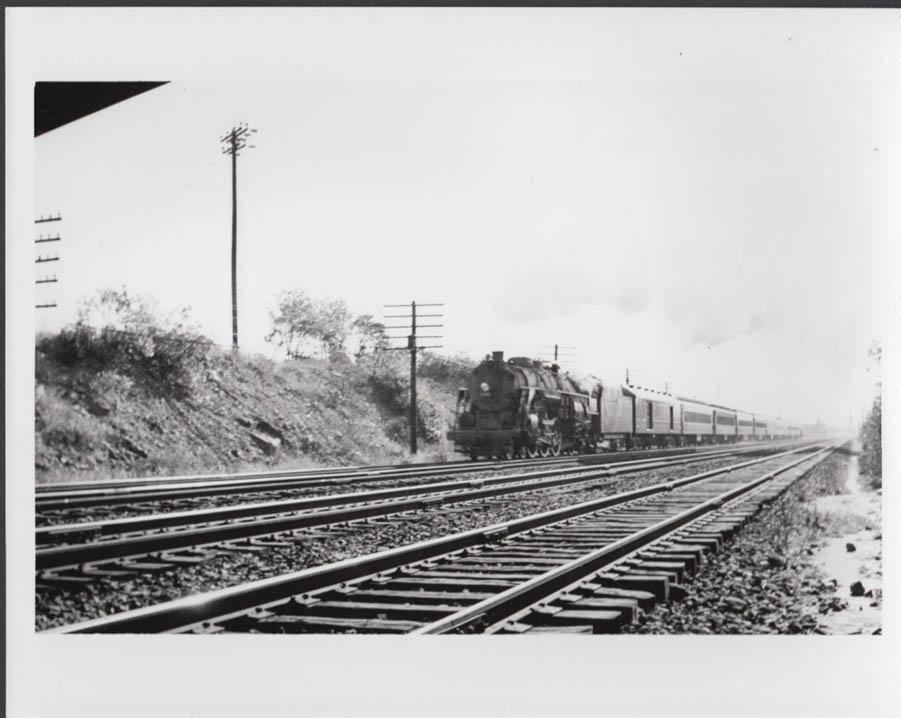 Delaware Lackawanna & Western RR 4-6-2 fan special Clifton NJ photo 1940