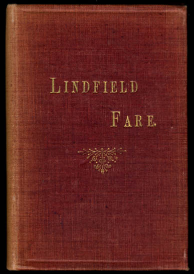 Image for B Cumberlege: Lindfield Fare: A Book of Recipes 1912: 1st ed