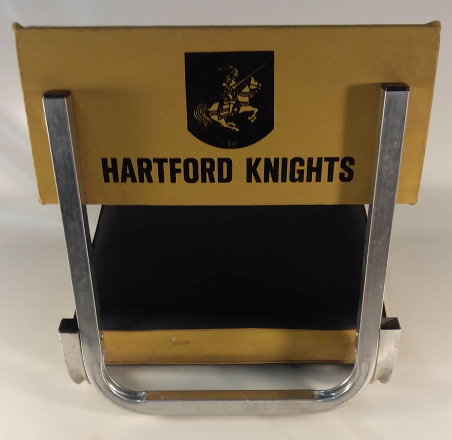 Image for Hartford Knights Pro Football Team folding bleacher seat ca 1960-1970s
