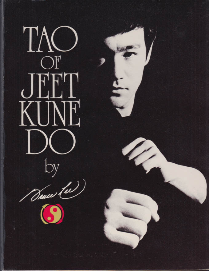 Image for Bruce Lee: Tao of Jeet Kune Do 1975 book 3rd printing