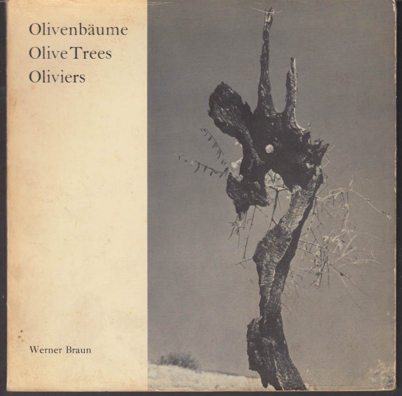 Werner Braun: Oliverbaume Olive Trees Oliviers photography monograph 1958