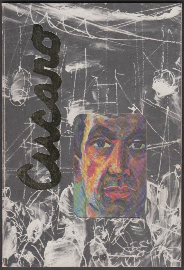 SIGNED w/ drawing Pascal Cucaro art monograph by Robert E Hopkins 1969