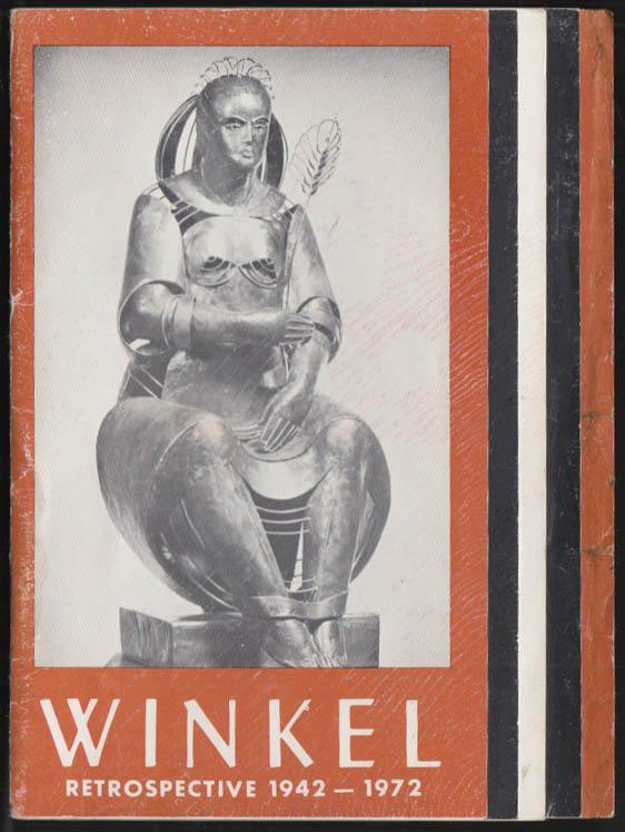 Image for Nina Winkel Sculpture Restrospective exhibit catalog 1972 NYC