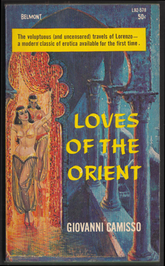 Giovanni Camisso: Loves of the Orient 1st PB edition 1964 GGA