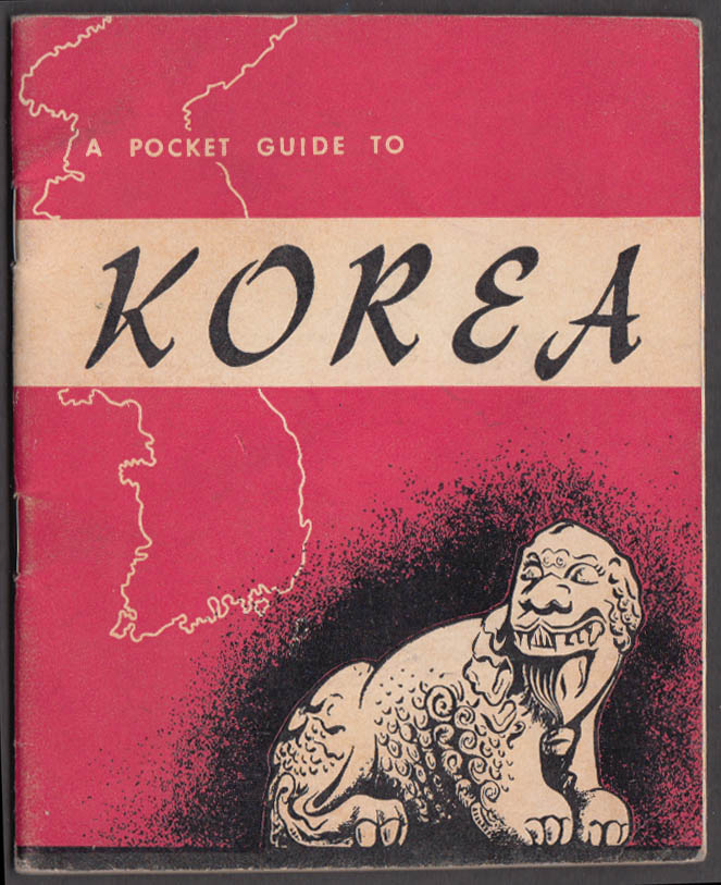 Image for A Pocket Guide to Korea 1950 Armed Forces Information Division