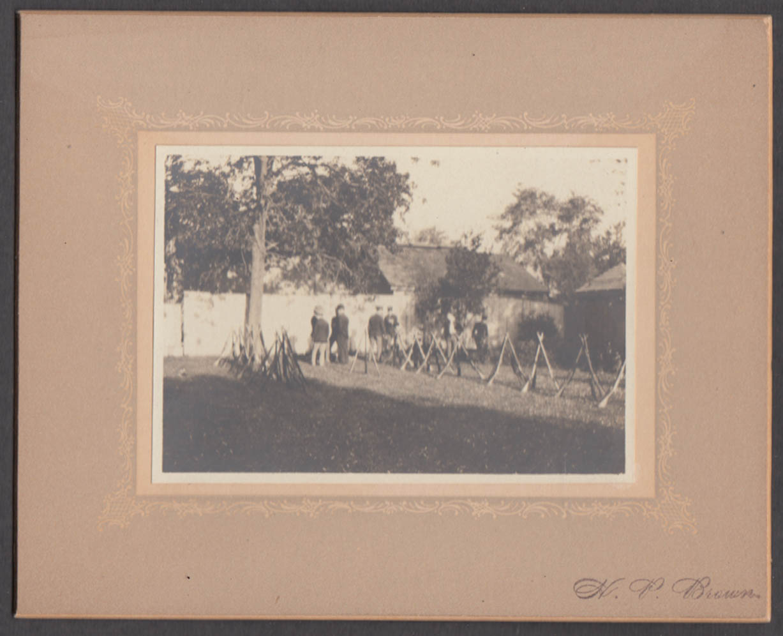 Civil War Reunion encampment candid by H P Brown ca 1920s #2