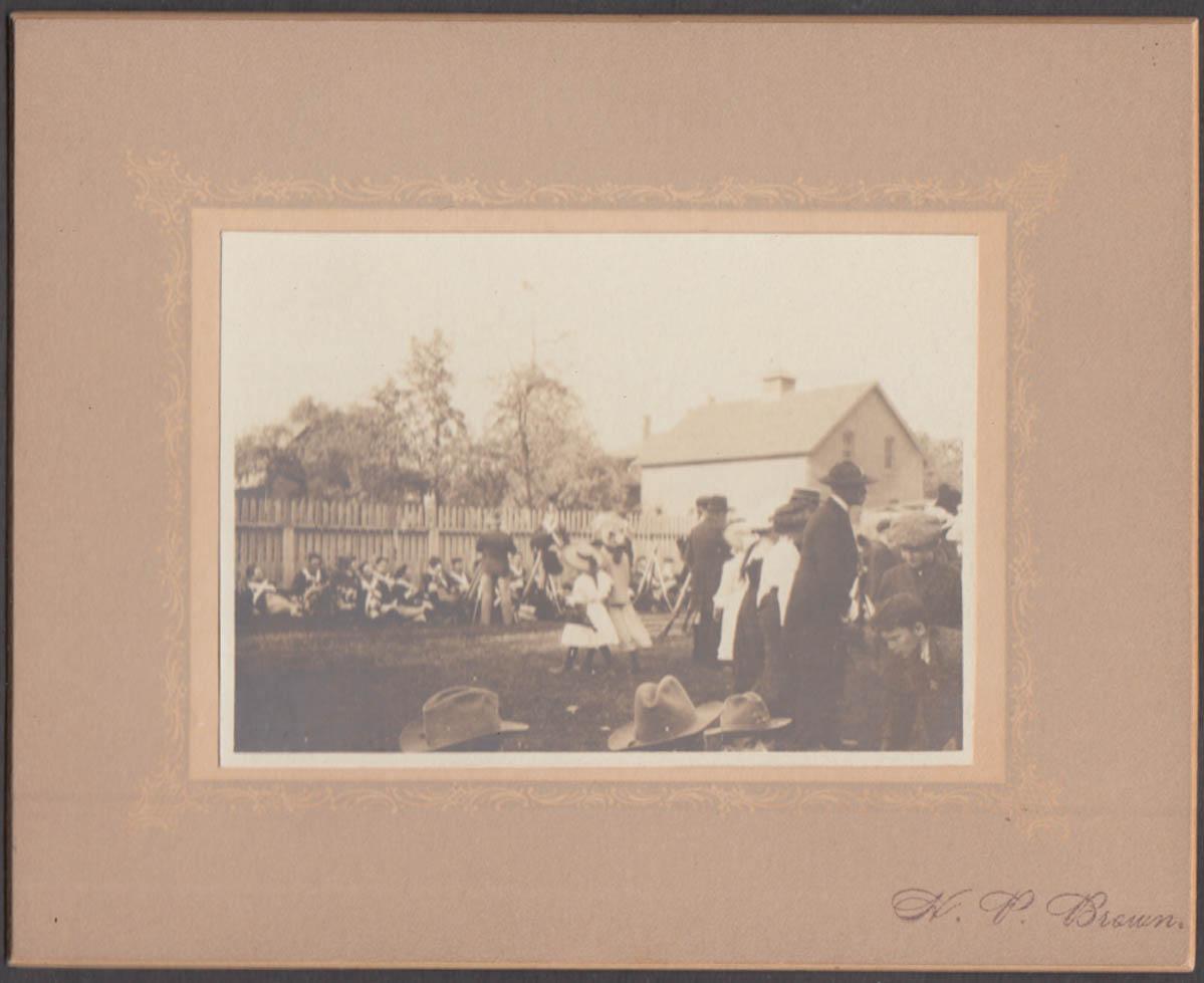 Civil War Reunion encampment candid by H P Brown ca 1920s #1
