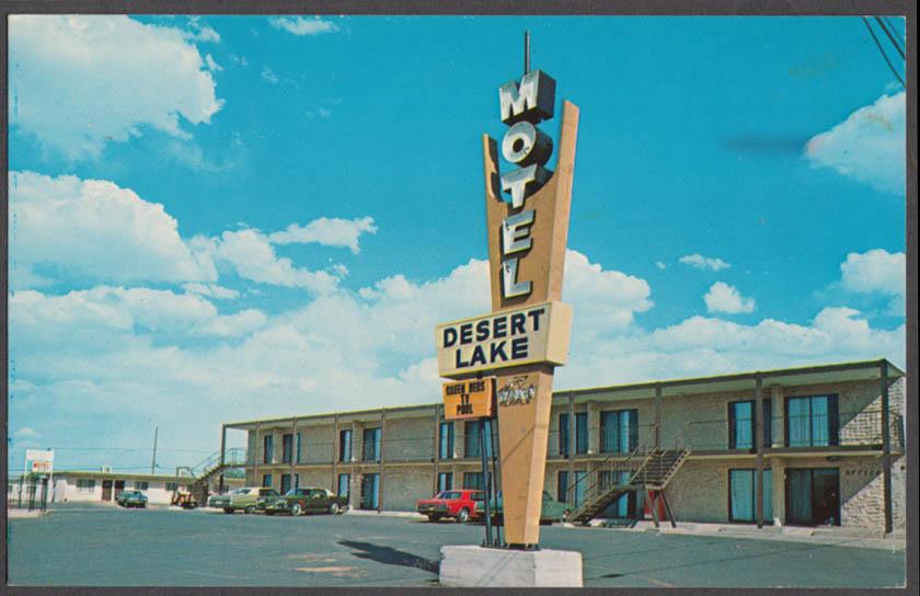 Desert Lake Motel 121 S 7th Av Page AZ postcard 1960s