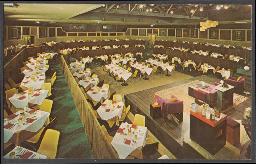 Golden Apple Dinner Theatre 25 N Pineapple Av Sarasota FL postcard ca 1960s