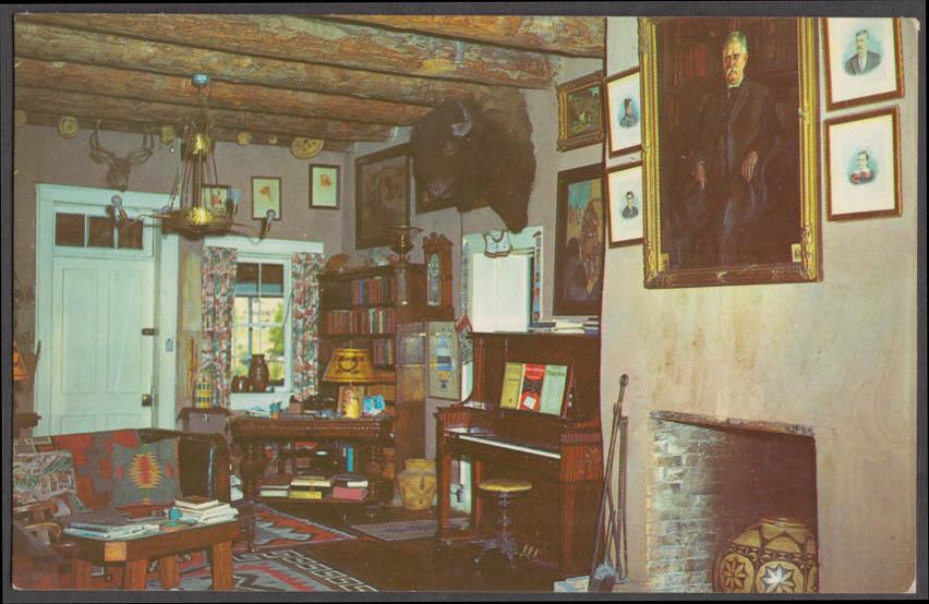 Old Hubbell Residence J L Hubbell Trading Post Ganado AZ postcard 1960s