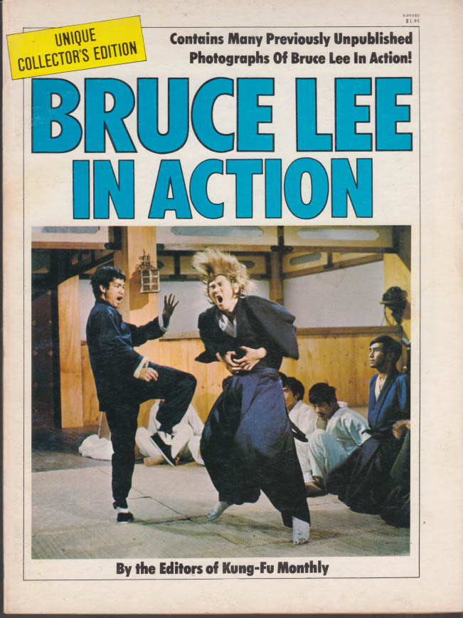 BRUCE LEE IN ACTION Kung-Fu Monthly Collector's Edition 1977