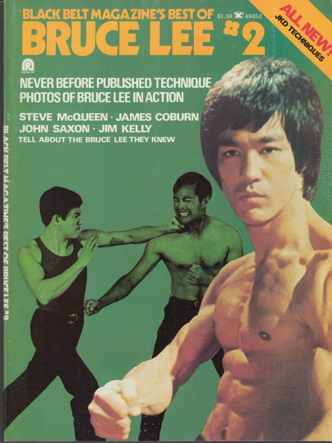 Black Belt Magazine Best of Bruce Lee #2 1975