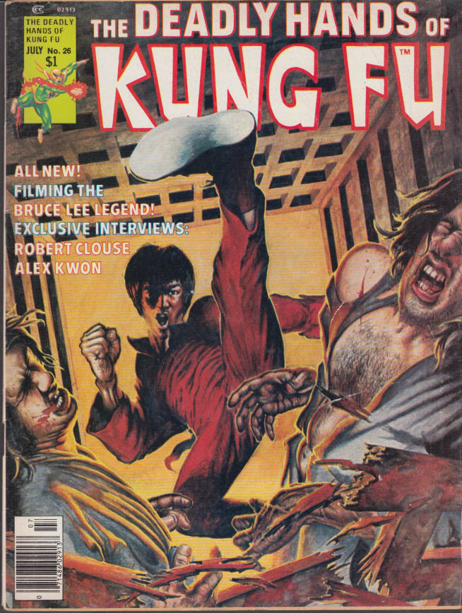 DEADLY HANDS OF KUNG FU #26 7 1976 Bruce Lee Robert Clouse Dragon Delta II