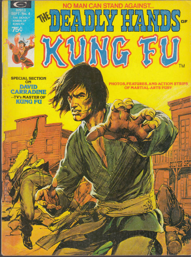 DEADLY HANDS OF KUNG FU #4 9 1974 Bruce Lee Shang-Chi David Carradine Master Kee