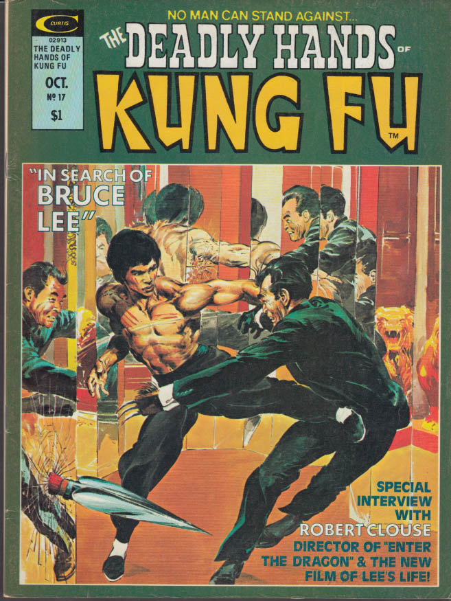 DEADLY HANDS OF KUNG FU 17 10 1975 Bruce Lee Shang-Chi Robert Clouse Aaron Banks