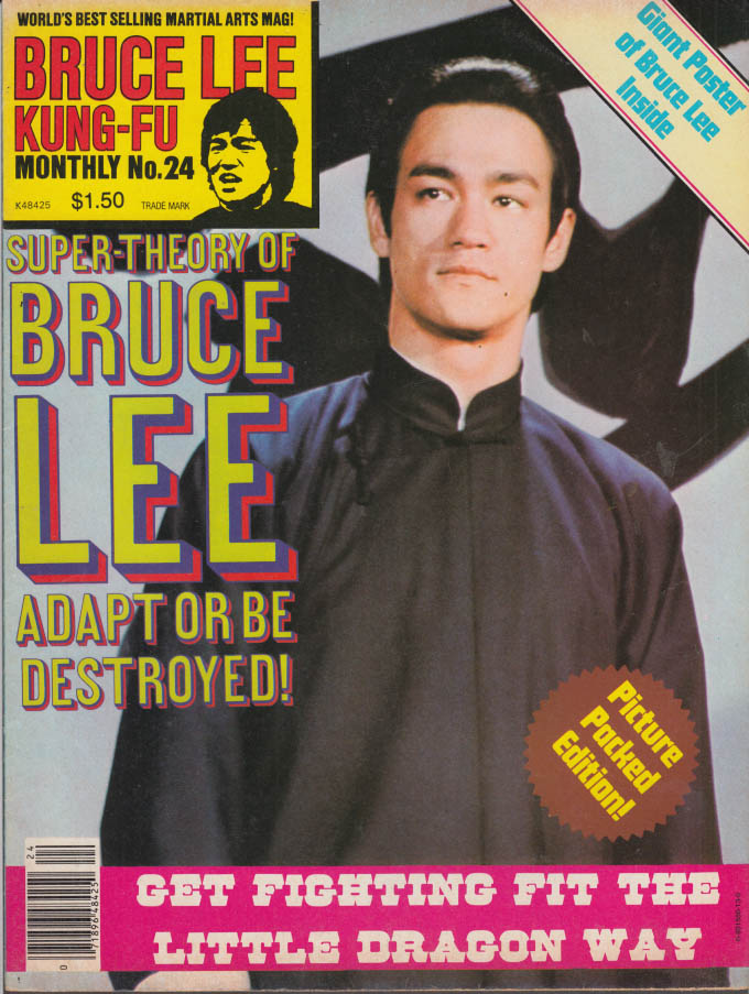 BRUCE LEE KUNG-FU MONTHLY#24 Little Dragon Way; Adapt or Die