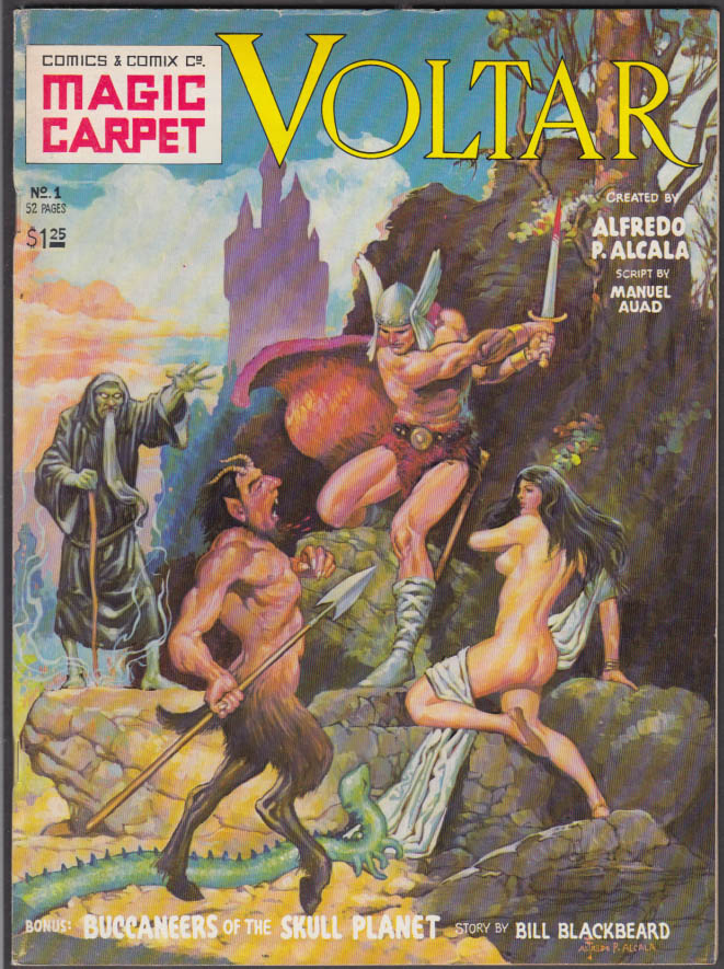 Alcala: Voltar / Buccaneers of the Skull Planet #1 comic 1st printing 1977
