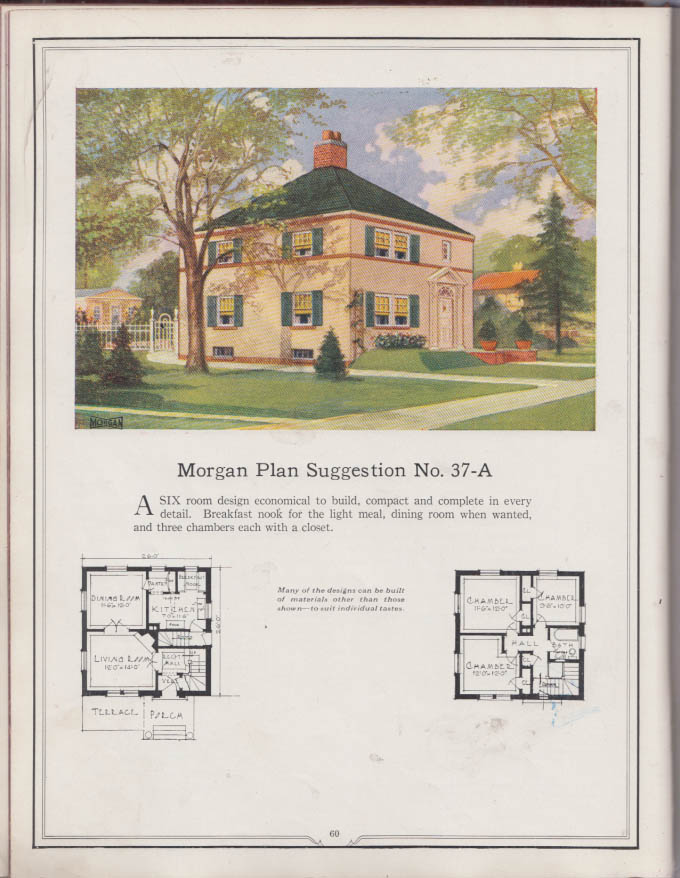 Image for Building With Assurance Morgan Woodwork house design & component catalog 1923