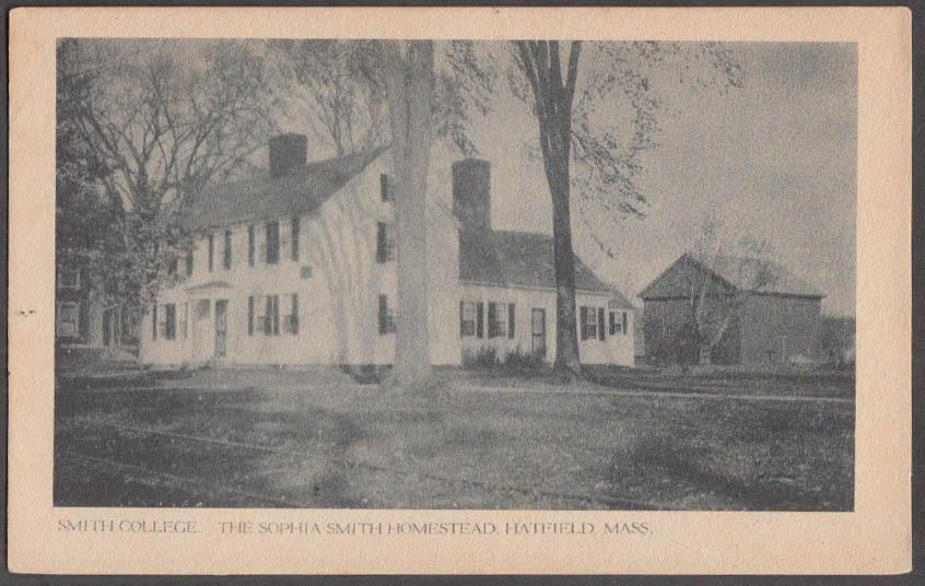 Image for Sophia Smith Homestead at Hatfield MA undivided back postcard ca 1905