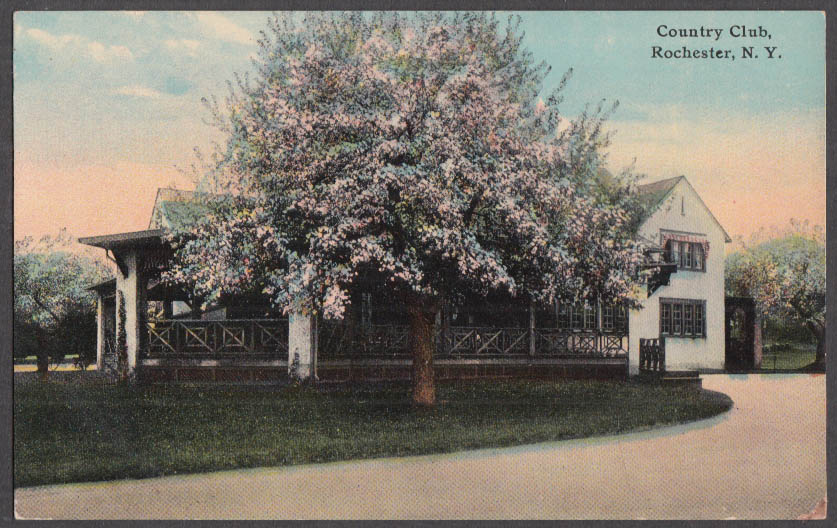 Image for The Country Club at Rochester NY postcard ca 1910