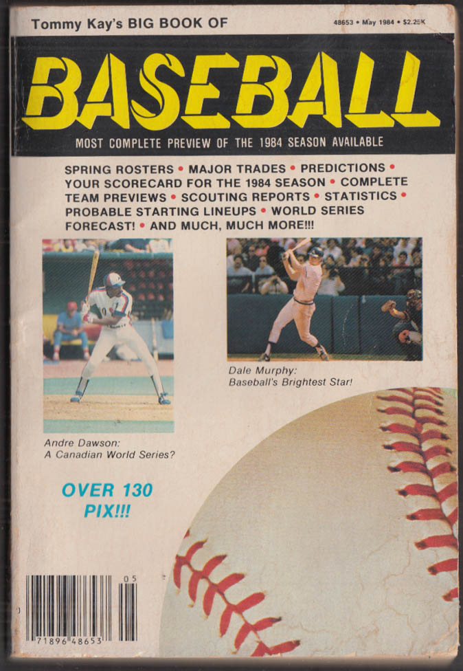 Image for Tommy Kay's Big Book of Baseball 1984 Season Preview