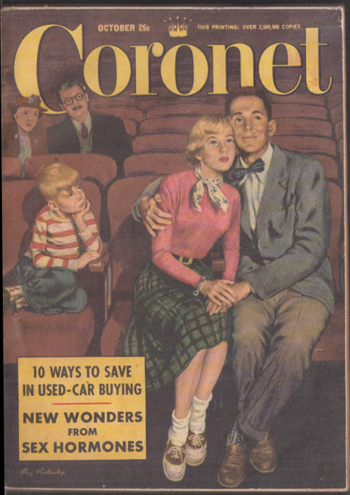 Image for CORONET 10 1951 Philippe Halsman Kukla Fran & Ollie Trappists