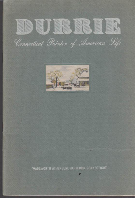 Image for George Henry Durrie 1820-1863 exhibit catalog Wadsworth Atheneum Hartford 1947