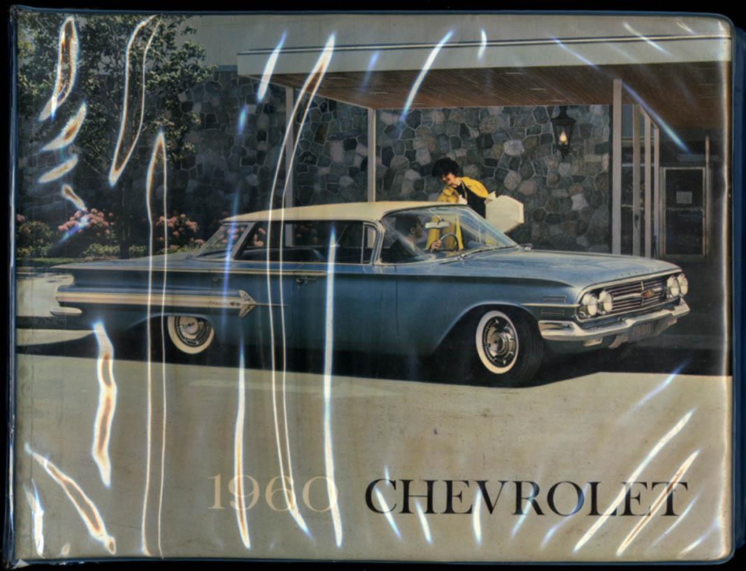 1960 Chevrolet Impala Bel Air Biscayne Corvair Dealer Display Album