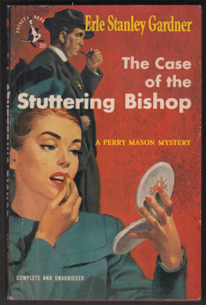 Erle Stanley Gardner: Case of the Stuttering Bishop pb 1948 GGA