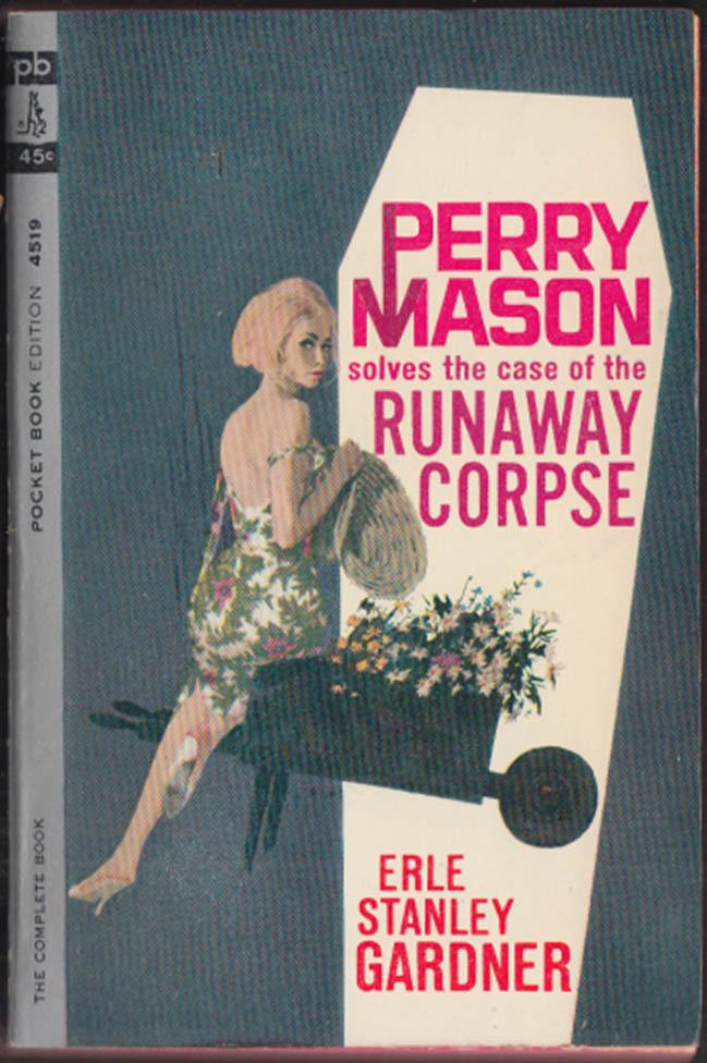 Erle Stanley Gardner: Case of the Runaway Corpse GGA pb bareback blonde
