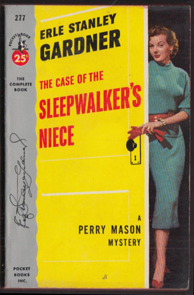 Erle Stanley Gardner: Case of the Sleepwalker's Niece GGA pb sheath dress