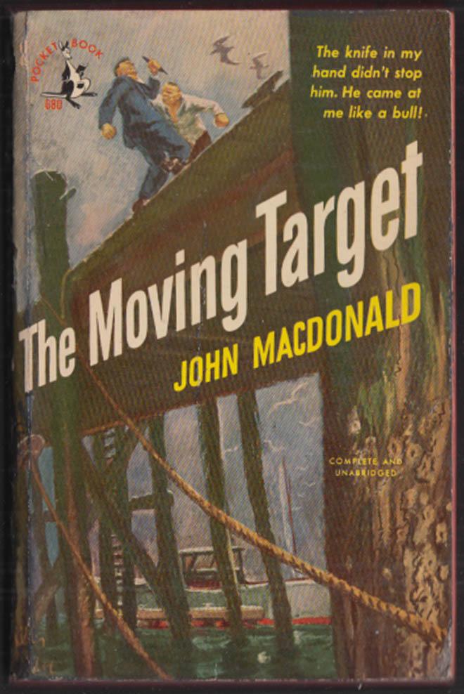 John MacDonald: The Moving Target noir 1st pb edition 1950
