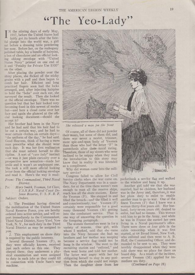 AMERICAN LEGION WEEKLY 7/4 1919 Pershing; Christy Mathewson Gen Barnett USMC