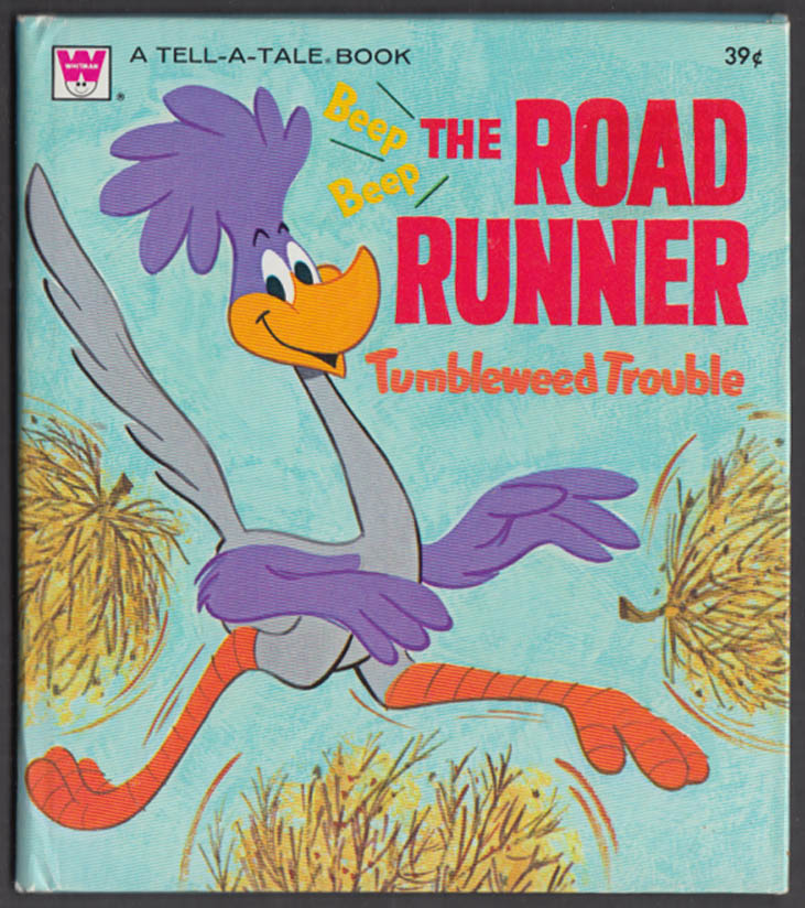Image for Warner Bros The Road Runner Tumbleweed Trouble 1971 Whitman Tell-a-Tale