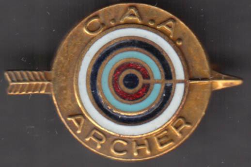Image for Connecticut Archery Association Archer Lapel Pin