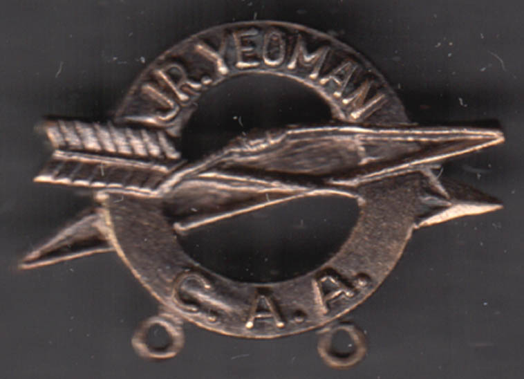 Image for Connecticut Archery Association Junior Yeoman Archer Lapel Pin