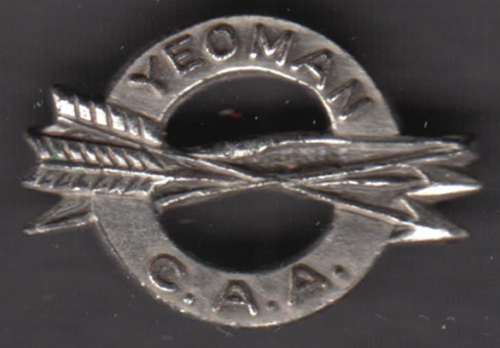 Image for Connecticut Archery Association Yeoman Archer Lapel Pin