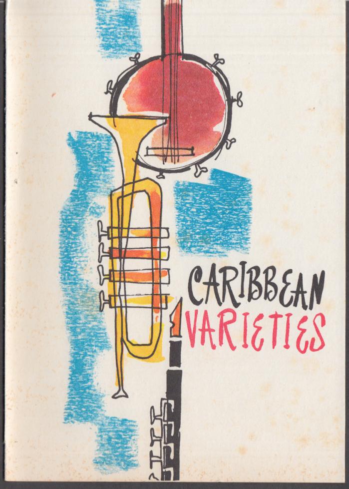 Home Lines Sun-Way Cruise S S Oceanic Caribbean Varieties program 1966