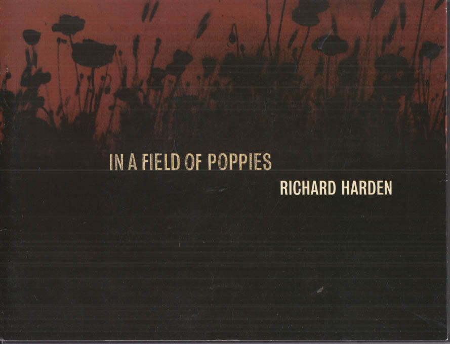 Image for Richard Harden: In a Field of Poppies art exhibit catalog w/ SIGNED letter 2002