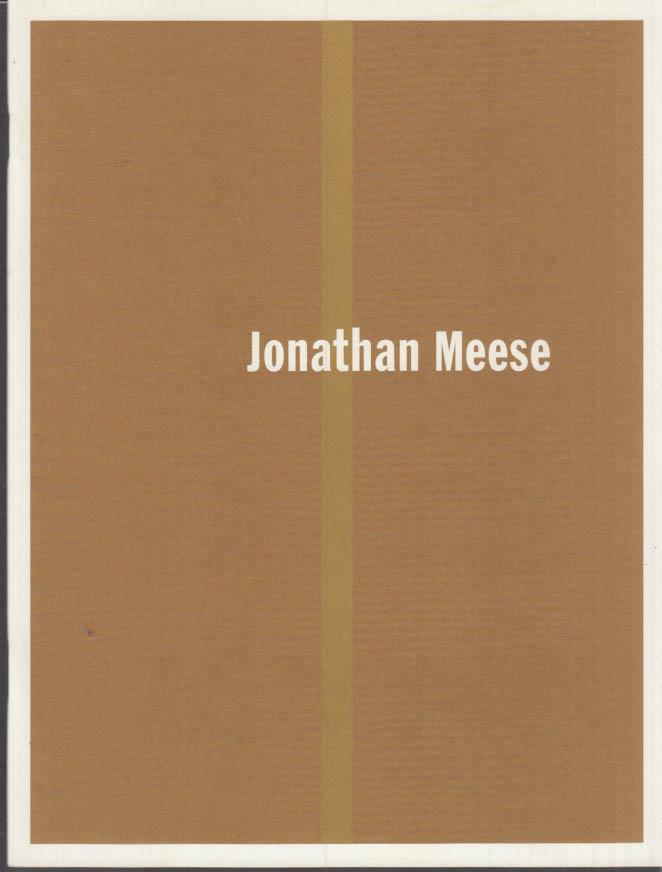 Image for Jonathan Meese art exhibit catalog 2001 Leo Koenig; Thomas Kellein essay
