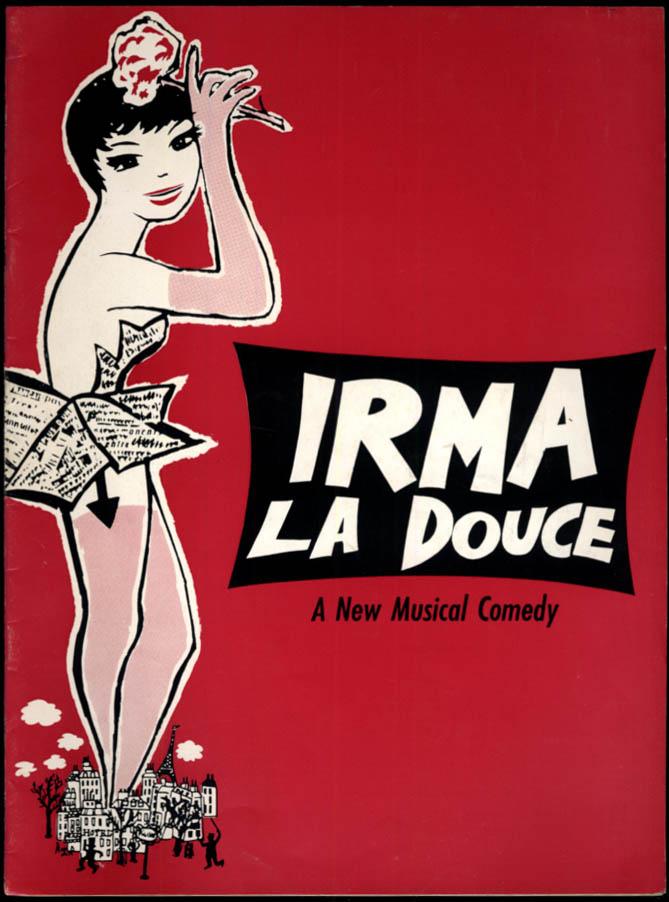 Image for Irma La Douce souvenir theater program 1961 Elizabeth Seal Keith Mitchell +
