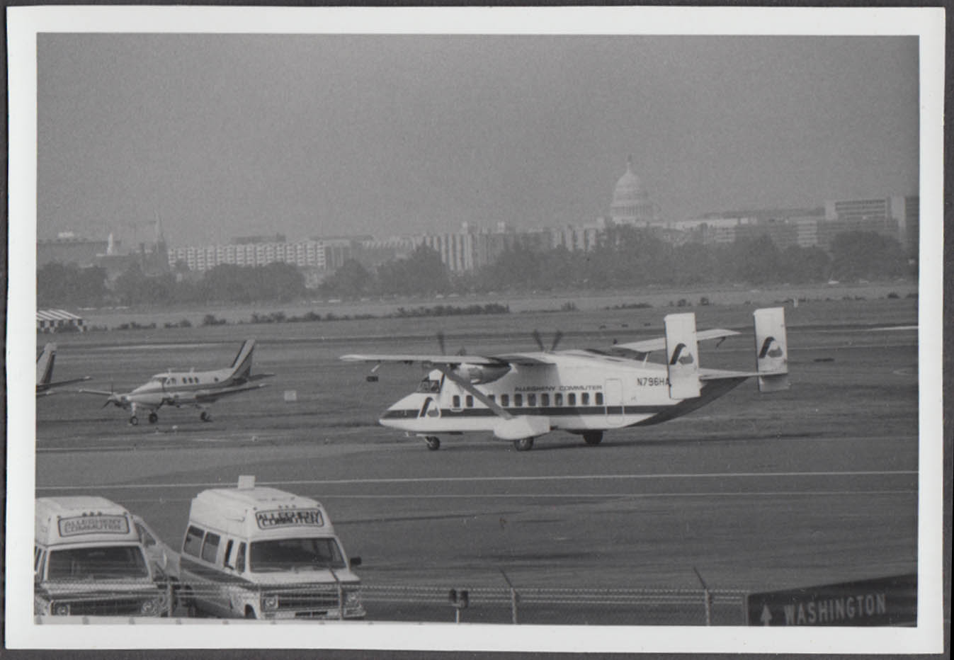 Image for Allegheny Commuter Airlines Short 330 N796HA Washington DC snapshot photo