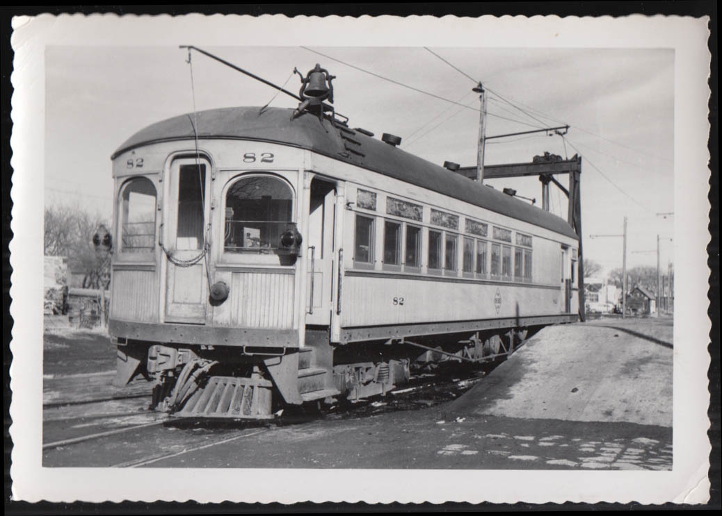 Image for Fort Dodge Des Moines & Southern streetcar #82 photograph 1950s