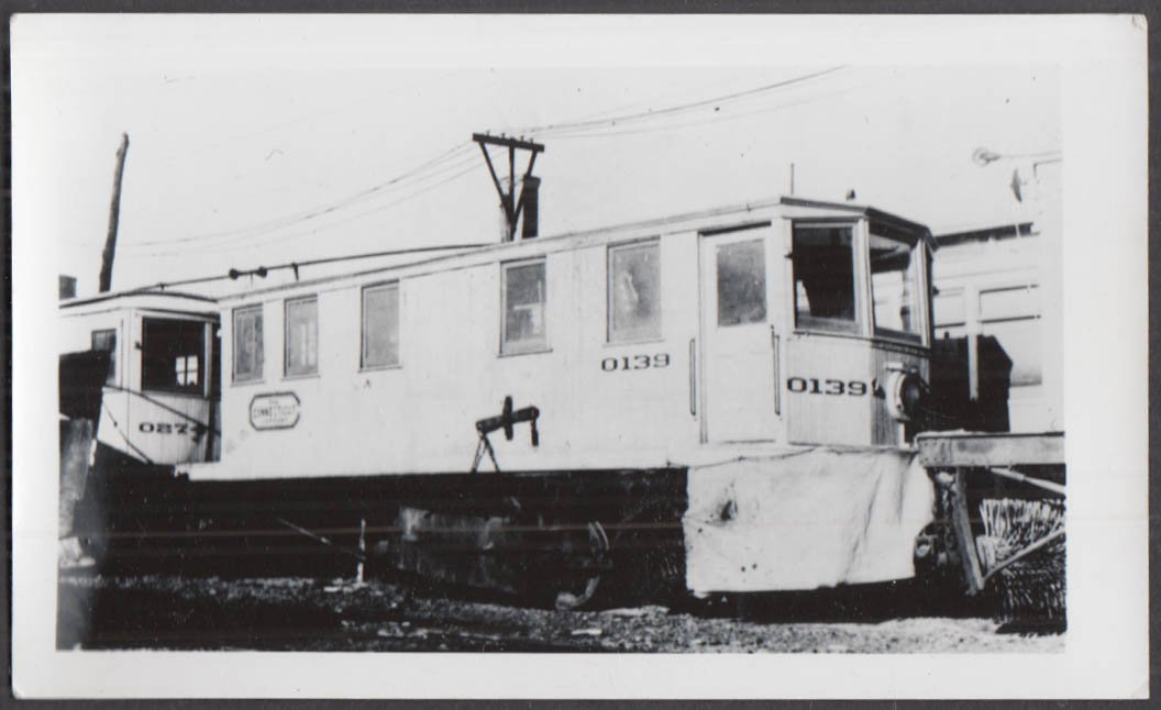 Image for Connecticut Company snow sweeper car #0139 photograph
